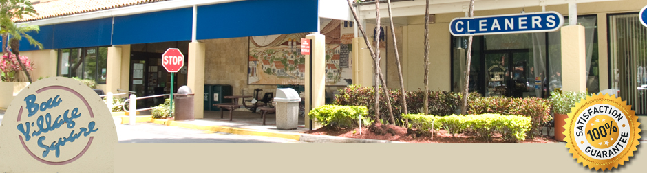 Dry Cleaners in Boca Pickup and Delivery